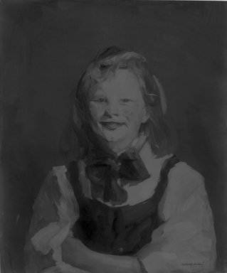 Robert Henri (American, 1865-1929). Laughing Girl, 1910. Oil on canvas, 24 1/8 x 20 1/8 in. (61.2 x 51.1 cm). Brooklyn Museum, Frank Sherman Benson Fund, 12.93