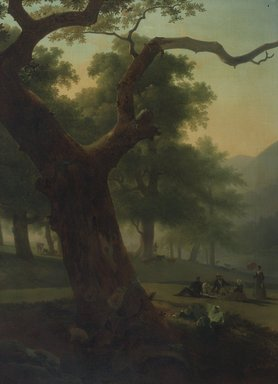American. Picnic in the Catskills, ca. 1840. Oil on canvas, 47 13/16 x 33 7/8 in. (121.4 x 86 cm). Brooklyn Museum, Gift of Charles A. Schieren, 13.73