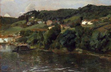 Joaquín Sorolla y Bastida (Spanish, 1863-1923). Asturian Landscape (Paisaje asturiano), 1903-1904. Oil on canvas, 24 3/8 x 37 1/4in. (61.9 x 94.6cm). Brooklyn Museum, Caroline H. Polhemus Fund, 14.559