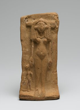 Woman and Child on a Bed, ca. 1539-1295 B.C.E. Terracotta, 2 1/4 x 2 3/4 x 6 7/8 in. (5.7 x 7 x 17.5 cm). Brooklyn Museum, Gift of the Egypt Exploration Fund, 14.606. Creative Commons-BY