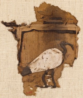 Brooklyn Museum: Ibis Appliqu