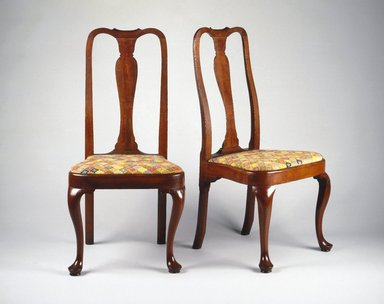 Side Chair, ca. 1740-1750. Cherry, maple, 41 x 19 1/2 x 17 1/2in. (104.1 x 49.5 x 44.5cm). Brooklyn Museum, Henry L. Batterman Fund, 14.709. Creative Commons-BY