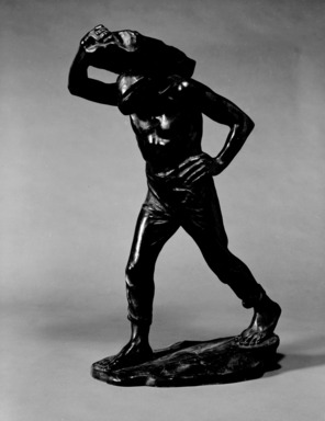 Constantin Meunier (Belgian, 1831-1905). Dock Laborer. Bronze, 22 7/16 x 12 13/16 x 7 1/2 inches. Brooklyn Museum, Gift of A. Augustus Healy, 14.717. Creative Commons-BY
