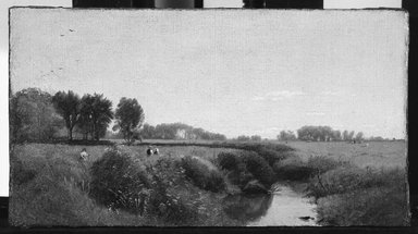 Brooklyn Museum: Near Hurley, Ulster County, New York