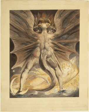 Brooklyn Museum: The Great Red Dragon and the Woman Clothed with the Sun (Rev. 12: 1-4)