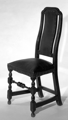 American. Turned Side Chair, 1700-1710., H: 42 5/16 in. (107.5 cm). Brooklyn Museum, Henry L. Batterman Fund, 15.426. Creative Commons-BY