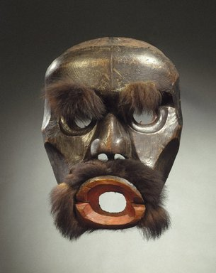 Brooklyn Museum: Dzunuk'wa Cannibal Woman Mask