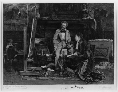 Brooklyn Museum: The Portrait Painter and His Model
