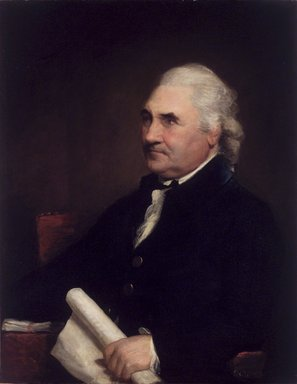 Gilbert Stuart (American, 1755-1828). Colonel Isaac Barré, 1785. Oil on canvas, 35 13/16 x 27 3/4 in. (91 x 70.5 cm). Brooklyn Museum, Carll H. de Silver Fund, 16.25