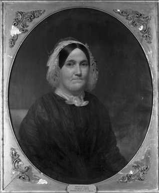 Charles Wesley Jarvis (American, 1812-1868). Eliza Lord Duryee, ca. 1845. Oil on canvas, 29 15/16 x 24 15/16 in. (76 x 63.3 cm). Brooklyn Museum, Gift of Kathryn C. Blauvelt, 16.38