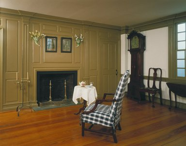 Two Parlors from the Dr. Ezekial Porter House, ca. 1750-1760. Wood Brooklyn Museum, Charles Stewart Smith Memorial Fund, 17.129. Creative Commons-BY
