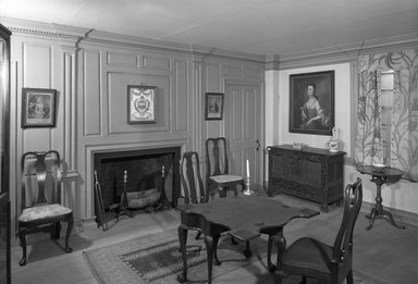 Brooklyn Museum: Two Parlors from the Dr. Ezekial Porter House