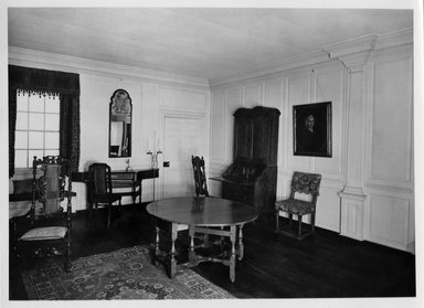Three Rooms of the Sewall House, 1665 & 1720. Wood Brooklyn Museum, Museum Surplus Fund, 17.130. Creative Commons-BY