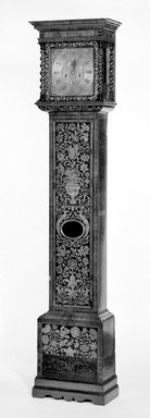 Antique English Clock, 17th Century. Walnut, 85 x 17 1/2 x 9 1/2 in. (215.9 x 44.5 x 24.1 cm). Brooklyn Museum, Henry L. Batterman Fund, 18.153. Creative Commons-BY