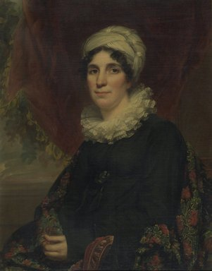 Samuel Lovett Waldo (American, 1783-1861). Mrs. James K. Bogert, Jr., 1819. Oil on canvas, 32 13/16 x 25 13/16 in. (83.3 x 65.5 cm). Brooklyn Museum, Gift of Kittie A. Doolittle, 18.39