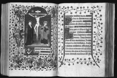 Horae Beatae Mariae Virginis, ca. 1425-1460. Manuscript in opaque watercolor and ink with gold, book: 7 7/8 x 5 5/8 in. (20 x 14.3 cm). Brooklyn Museum, Bequest of Mary Benson, 19.78