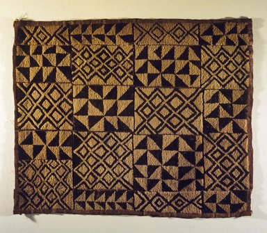 Textile Panel, 20th century. Raffia fiber, 20 1/2 x 25 9/16 in. (52.1 x 64.9 cm). Brooklyn Museum, Gift of The Roebling Society, 1989.11.6. Creative Commons-BY