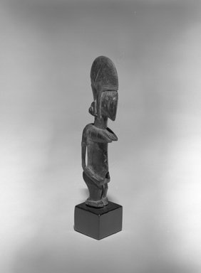 Bamana. Figure of a Female (Nyeleni), 20th century. Wood, 8 1/4 x 1 1/2 x 2 in. (21 x 3.8 x 5.1 cm). Brooklyn Museum, The Adolph and Esther D. Gottlieb Collection, 1989.51.44. Creative Commons-BY