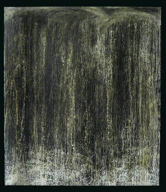 Pat Steir (American, born 1940). Everlasting Waterfall, 1989. Oil on canvas, 108 1/2 x 95 x 2 in. (275.6 x 241.3 x 5.1 cm). Brooklyn Museum, Gift of the Contemporary Art Council and purchased with funds given by National Endowment for the Arts Museum Purchase Plan, and gift of Edward A. Bragaline, by exchange, 1990.109. © Pat Steir