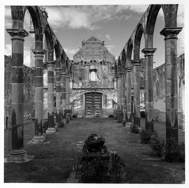 Renata von Hanffstengel (Mexican, born Germany 1934). Tecalic Space Open to the Divine, 1978. Gelatin silver photograph, image: 10 1/2 x 10 1/2 in. (26.7 x 26.7 cm). Brooklyn Museum, Gift of Marcuse Pfeifer, 1990.119.22. © Renata von Hanffstengel