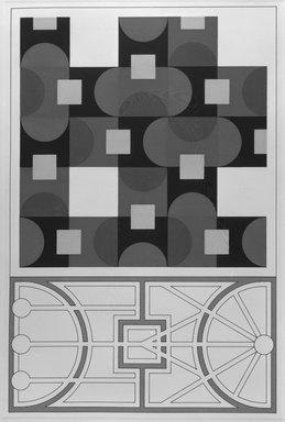 Matt Mullican (American, born 1951). City Plan, 1988. Etching with 16 gauge copper plates, sheet: 22 x 15 1/8 in. (55.9 x 38.4 cm). Brooklyn Museum, Frank L. Babbott Fund, 1990.125.9. © Matt Mullican