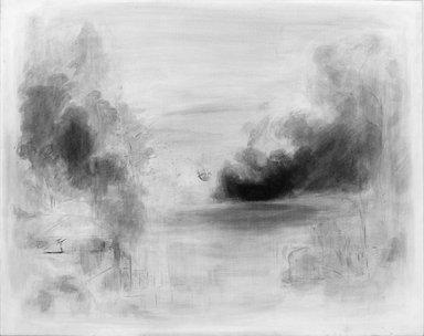 David Deutsch. Untitled, 1980. Ink on paper on canvas, 42 x 60 in. Brooklyn Museum, Gift of Gordon Locksley and George T. Shea, 1990.231.1. © David Deutsch