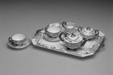 Wedgwood (1759-present). Tray, 1876. Porcelain, 1 1/4 x 8 1/4 x 13 1/4 in. Brooklyn Museum, Gift of Mrs. William R. Liberman, 1990.31.4. Creative Commons-BY