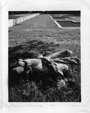 Regina DeLuise (American, born 1959). Headless Statue, 1988. Palladium photograph, 8 x 10 in. (20.3 x 25.4 cm). Brooklyn Museum, Purchased with funds given by Richard Menschel, Eileen and Adam Boxer, Dr. Joel E. Hershey, Harry Kahn, Marilynn and Ivan Karp, and Merrill Lynch & Co., Inc., 1990.67.2. © Regina DeLuise