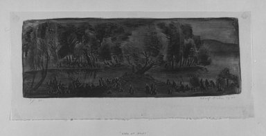 Brooklyn Museum: Evening on the Lake