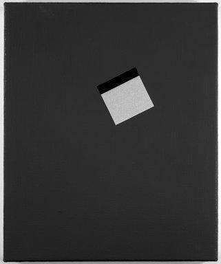 Gerwald Rockenschaub (Austrian, born 1952). Untitled (#23), 1986. Oil on canvas, 14 x 14 in. (35.6 x 35.6 cm). Brooklyn Museum, Gift of Paula Kassover, 1991.275.2. © Gerwald Rockenschaub