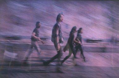 Lynn Hyman Butler (American, born 1953). The Punks, 1988. Silver dye bleach photograph (Cibachrome), image: 8 7/8 x 13 9/16 in. (22.5 x 34.4 cm). Brooklyn Museum, Gift of Ilford Photo Corporation, 1991.59.7. © Lynn Hyman Butler
