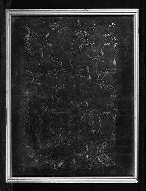 Stencil of Butterflies, 19th century. Cut paper, 12 1/2 x 16 in. (framed). Brooklyn Museum, Gift of Mrs. Nathan L. Burnett, 1991.75.7
