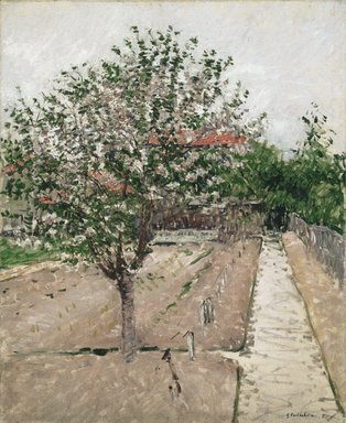Brooklyn Museum: Apple Tree in Bloom (Pommier en fleurs)