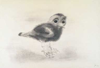 Morris Graves (American, 1910-2001). Young Irish Bird, 1954. Ink and wash on paper, 16 3/8 x 24 1/8 in. Brooklyn Museum, Bequest of Edith and Milton Lowenthal, 1992.11.13. © Morris Graves Foundation