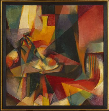 Stanton Macdonald-Wright (American, 1890-1973). Synchromy No. 3, 1917. Oil on canvas, 39 x 38 in. (99.1 x 96.5 cm). Brooklyn Museum, Bequest of Edith and Milton Lowenthal, 1992.11.24