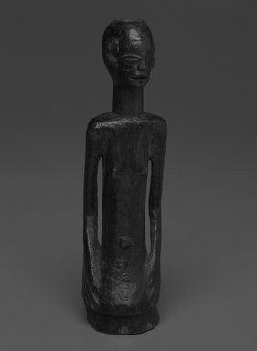Possibly Nyamwezi. Female Torso, 20th century. Wood, 6 x 1 3/4 x 1 3/4 in. (15.2 x 4.4 x 4.4 cm). Brooklyn Museum, Gift of Drs. Noble and Jean Endicott, 1992.136.19. Creative Commons-BY