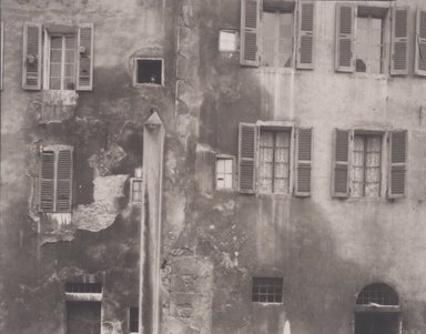 Brooklyn Museum: Wall, Annecy, France