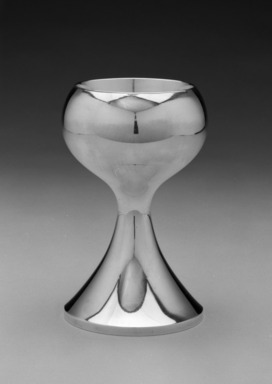 Michael Lacktman (American, born 1938). Chalice, ca. 1980. Silver and gilt, height: 6 15/16 in. (17.6 cm); diameter: 4 1/4 in. (10.8 cm). Brooklyn Museum, Gift of Daniel Morris and Denis Gallion, 1992.243. Creative Commons-BY