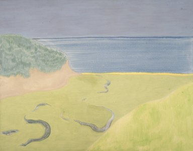 March Avery (American, born 1932). Seascape. Oil on canvas, 40 x 50 in. (101.6 x 127 cm). Brooklyn Museum, Bequest of Ivor Green and Augusta Green, 1992.271.1. © March Avery
