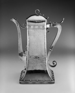 Dominick & Haff (1872-1928). Coffeepot, ca. 1881. Silver, 10 1/8 x 8 x 4 7/8 in. (25.7 x 20.3 x 12.4 cm). Brooklyn Museum, Marie Bernice Bitzer Fund, 1992.44. Creative Commons-BY