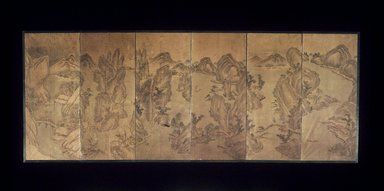 Song-Kwang Kim. The Nine-Bend Streams of Wuyi, 19th century. Ink and light color on paper, Overall: 24 x 61 1/4 in. (61 x 155.6 cm). Brooklyn Museum, Gift of Stanley J. Love, 1992.77.1