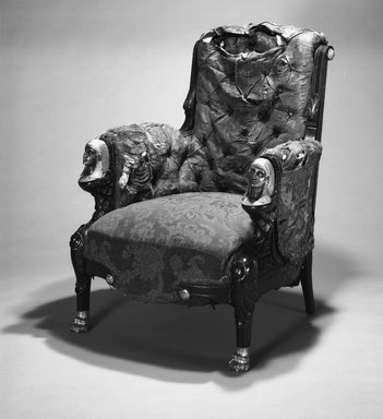 Armchair (Egyptian Revival style)