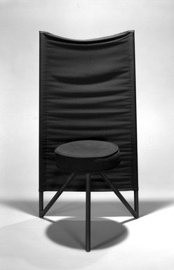 Philippe Starck (French, born 1949). Miss Wirt Chair. Metal, padding, fabric Brooklyn Museum, Gift of Mark Isaacson, 1992.92.1. Creative Commons-BY