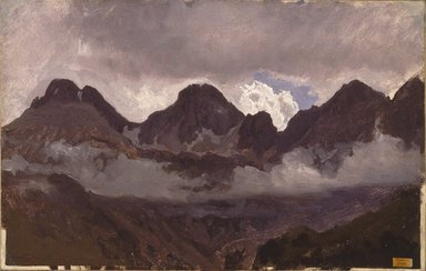Brooklyn Museum: Mountains with Mist