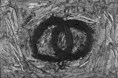 Fargo Deborah Whitman (American, born 1953). Spiritual Mechanism III, 1992. Oil stick on paper, 4 x 5 3/4 in. (10.0 x 14.6 cm). Brooklyn Museum, Purchase gift of Werner H. and Sarah-Ann Kramarsky, 1993.137.3. © Fargo Deborah Whitman