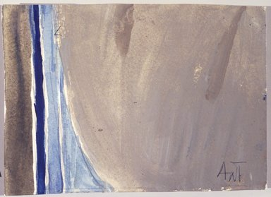 Alma W. Thomas (American, 1895-1978). Untitled, 1972. Watercolor on paper, 5 x 7 in. Brooklyn Museum, Gift of Peter J. and Charlotte M. Ketchum, 1993.160.5. © Estate of Alma W. Thomas