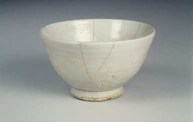 Bowl, 16th century (possibly). Porcelain, glaze, Height: 3 11/16 in. (9.3 cm). Brooklyn Museum, Gift of Dr. and Mrs. John P. Lyden, 1993.194.15. Creative Commons-BY