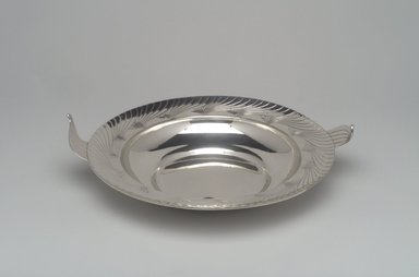 Alfred G. Kintz (American, 1885-1963). Bowl, Northern Lights, ca. 1928. Silver, 2 7/8 x 11 11/16 x 10 1/16 in. (7.3 x 29.7 x 25.6 cm). Brooklyn Museum, Gift of Daniel Morris and Denis Gallion, 1993.208.1. Creative Commons-BY
