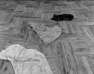 Brooklyn Museum: Floor with Laundry No. 3