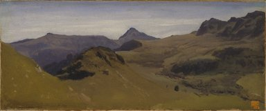 Brooklyn Museum: Landscape in Auvergne
